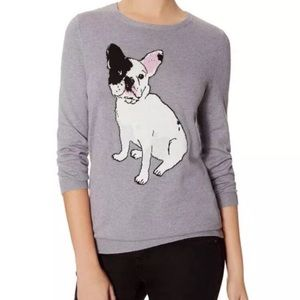 The Limited French Bulldog Lightweight Sweater Top